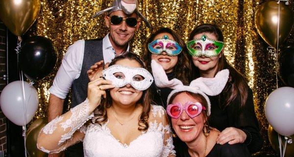 Photobooth huren trouwideeën 2021